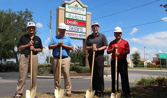 Breaking ground on Zaxby's